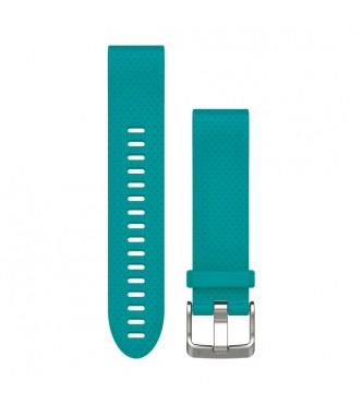GARMIN Correas de reloj QuickFit™ 20, silicona turquesa