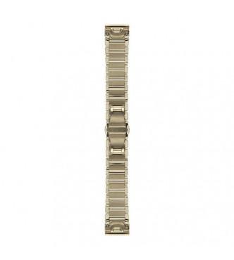 GARMIN Correas de reloj QuickFit™ 20, acero inoxidable dorado