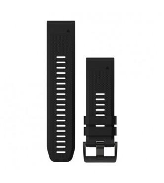 GARMIN Correas de reloj QuickFit™ 26, silicona negro
