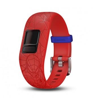 GARMIN Pulsera vivofit jr 2 pulsera ajustable Spiderman roja 010-01266-17