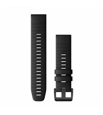 GARMIN 010-12863-00 Correa QuickFit 22 mm silicona negra con hebilla negra