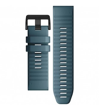GARMIN 010-12864-03 Correa QuickFit 26 mm silicona azul con hebilla negra