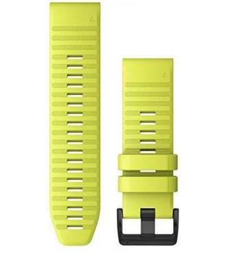 GARMIN 010-12864-04 Correa QuickFit 26 mm silicona amarilla con hebilla negra
