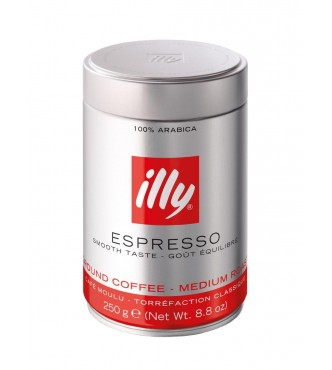 Illy 756 Espr.Red gr.0.25Kg Ds