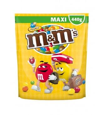 M&M.s Peanut Maxi Pouch 440G