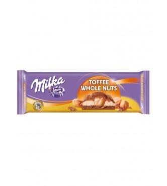 Milka Toffee Whole Nut 300G