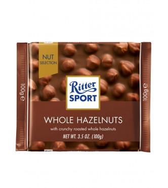 Ri 7000 Whole Hazelnuts 100g Ritter Sport Whole Hazelnuts