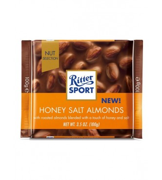 Ritter Sport Honey Salt Almond 100G