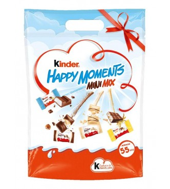 Kinder Happy Moments Mini Mix Bag 338G