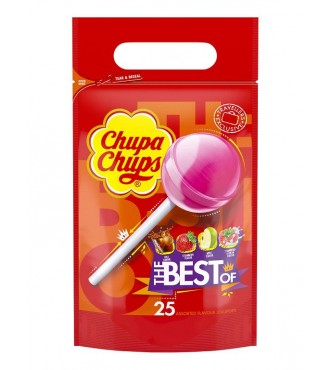 Chupa Chups Best Of, bag 300G