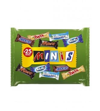 Mars Mixed Minis Bag 500G