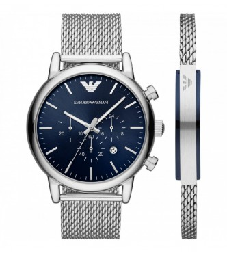 ARMANI WATCHES AR80038 RELOJ MEN SILVER