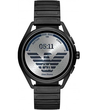 ARMANI DISPLAY WATCH ART5029 MATTEO black stainless_b_steel round 44mm 5_b_atm Armani Display Watch