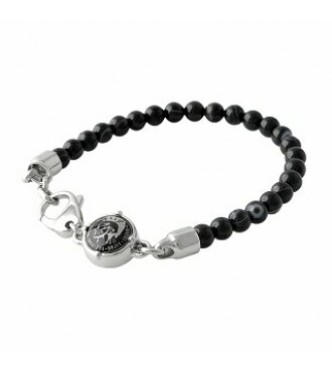 DIESEL JW BRACELET BEANS DX0848040 BLACK MEN
