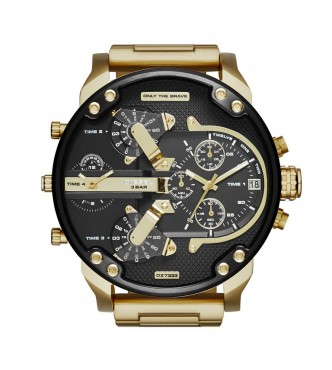 RELOJ DIESEL THE DADDIES SERIES GOLD DZ7333